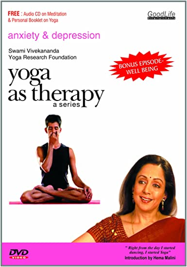 Yoga As Therapy Anxiety Depression Well Being Amazon In Sunanda Bhat Movies Tv Shows