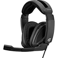 EPOS I Sennheiser GSP 302 Gaming Headset with Noise-Cancelling Mic, Flip-to-Mute, Comfortable Memory Foam Ear Pads…