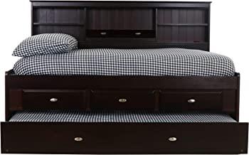 6.Discovery World Furniture with 3 Drawers Full Bookcase