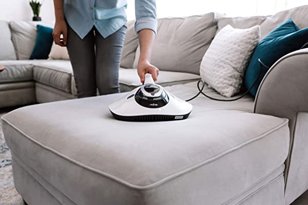 RAYCOP LITE UV Sanitizing HEPA Allergen Vacuum Effectively Removes Dust Mite Matters, Bacteria, Viruses and Pollen