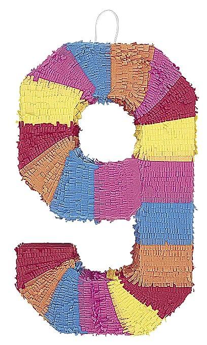50 opinioni per Unique Party 6679- Pignatta a Forma di Numero 9