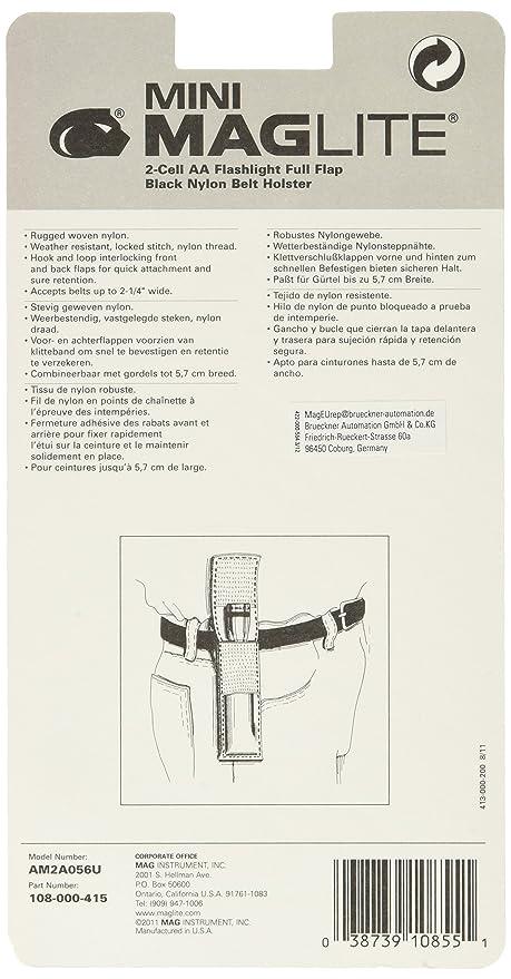 Maglite Etui nylon pour lampe Mini R6 Noir  Amazon.fr  Sports et Loisirs 003421e5d1a
