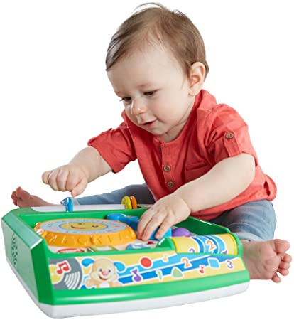 amazon com fisher price laugh learn remix record player baby toy