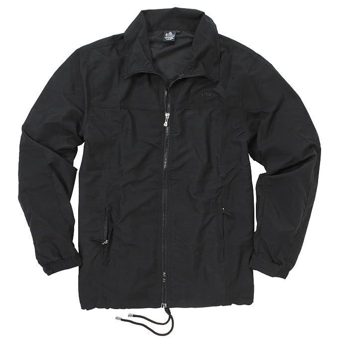 Ahorn Schwarze Aus Micro Größen Sportswear Polyester 2xl 10xl Für Männer Trainingsjacke Großen 4AjL35R