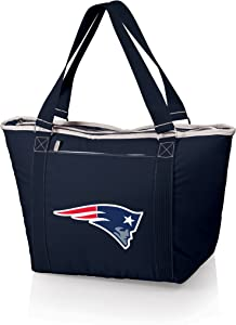 NFL New England Patriots Topanga Insulated Cooler Tote, Navy