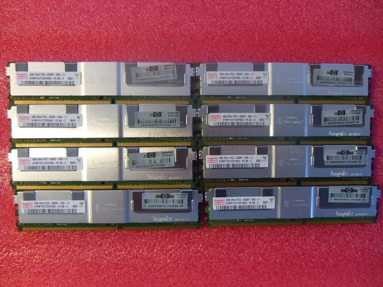 32GB KIT (8 x 4GB) For Dell PowerEdge Series 1900 1950 1950 III 1955 2900 2900 III 2950 2950 III M600 R900. DIMM DDR2 ECC PC2-5300F 667MHz RAM Memory.