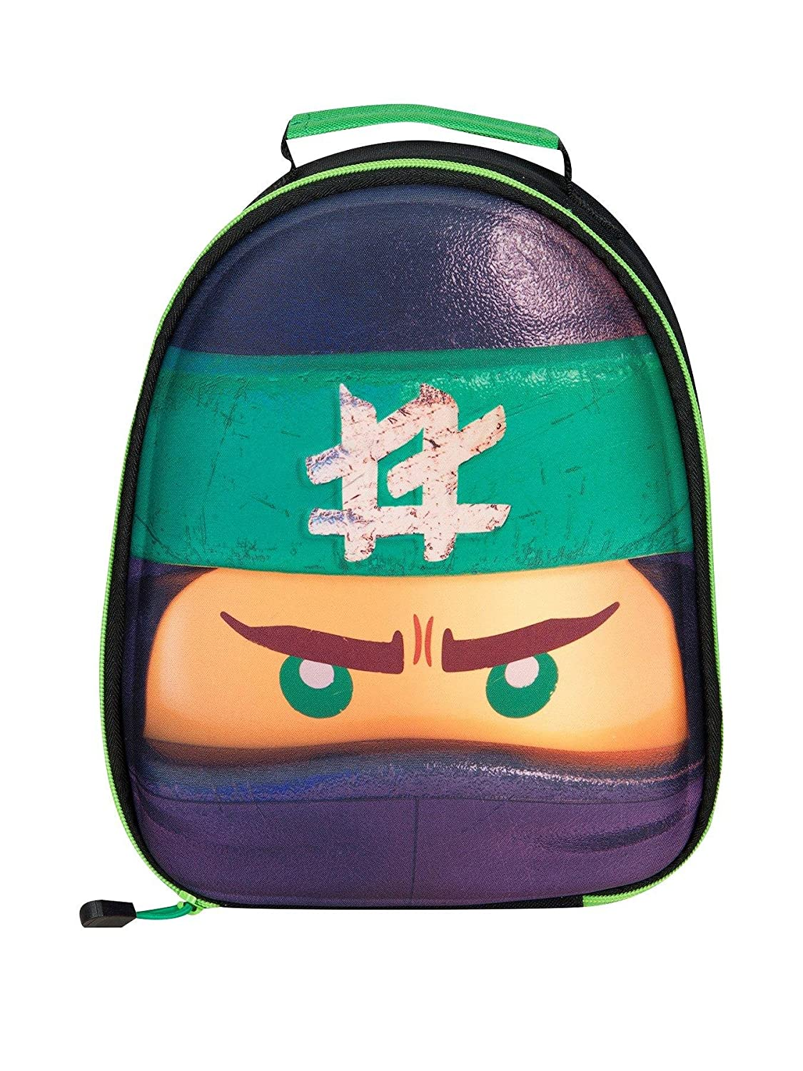 Lego Vline Ninjago Lloyd School Backpack Green... 17 liters 38.5 x 25 x 18 cm