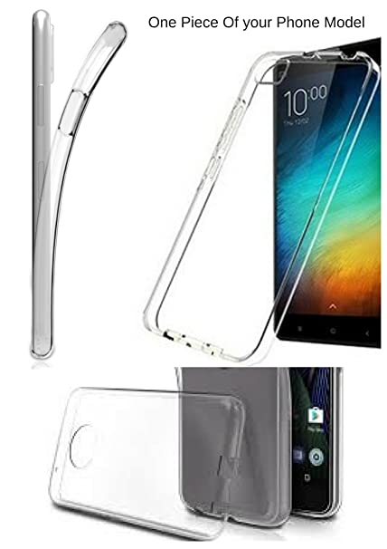 the best attitude 5a3f6 1f3ee CHUNGROO Crystal Clear Soft Transparent Back Cover for: Amazon.in ...