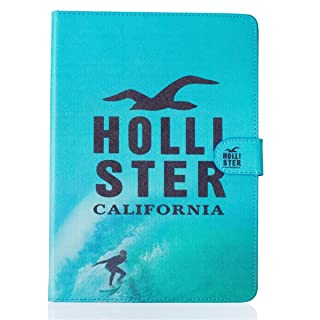 iPad Air Funda Case,iPad 5 Funda Case,Gift_Source ® [Hollister] [Ranura para tarjetas Funda Case] [magnético Cierre] Prima PU cuero billetera Suave TPU Funda Case Folio Flip estar Funda Case cubrir para Apple iPad Air/iPad 5