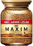 AGF マキシム インスタントコーヒー 瓶 期間限定増量 80+20g
