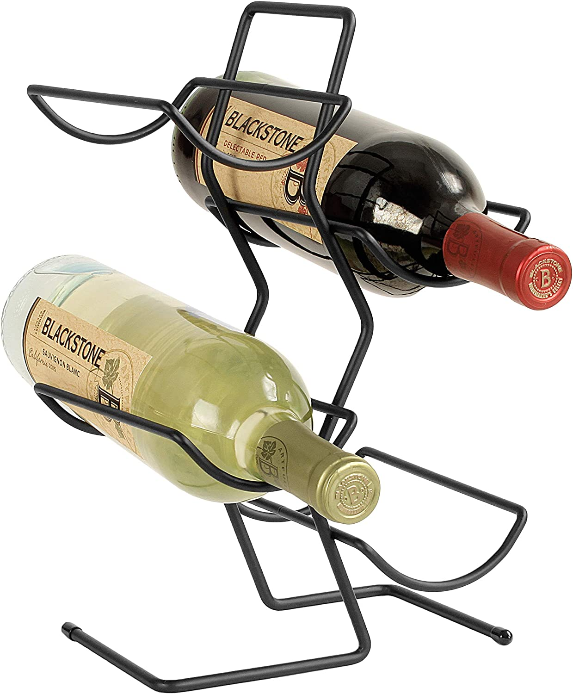 Spectrum Diversified Tree, 4 Rack, Countertop Kitchen Organizer & Wine Bottle Storage, Perfect for Wine Cellar & Home Bar Organization