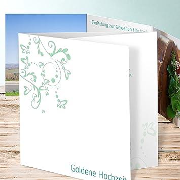 Einladung Goldene Hochzeit Vorlage Unser Tag 70 Karten