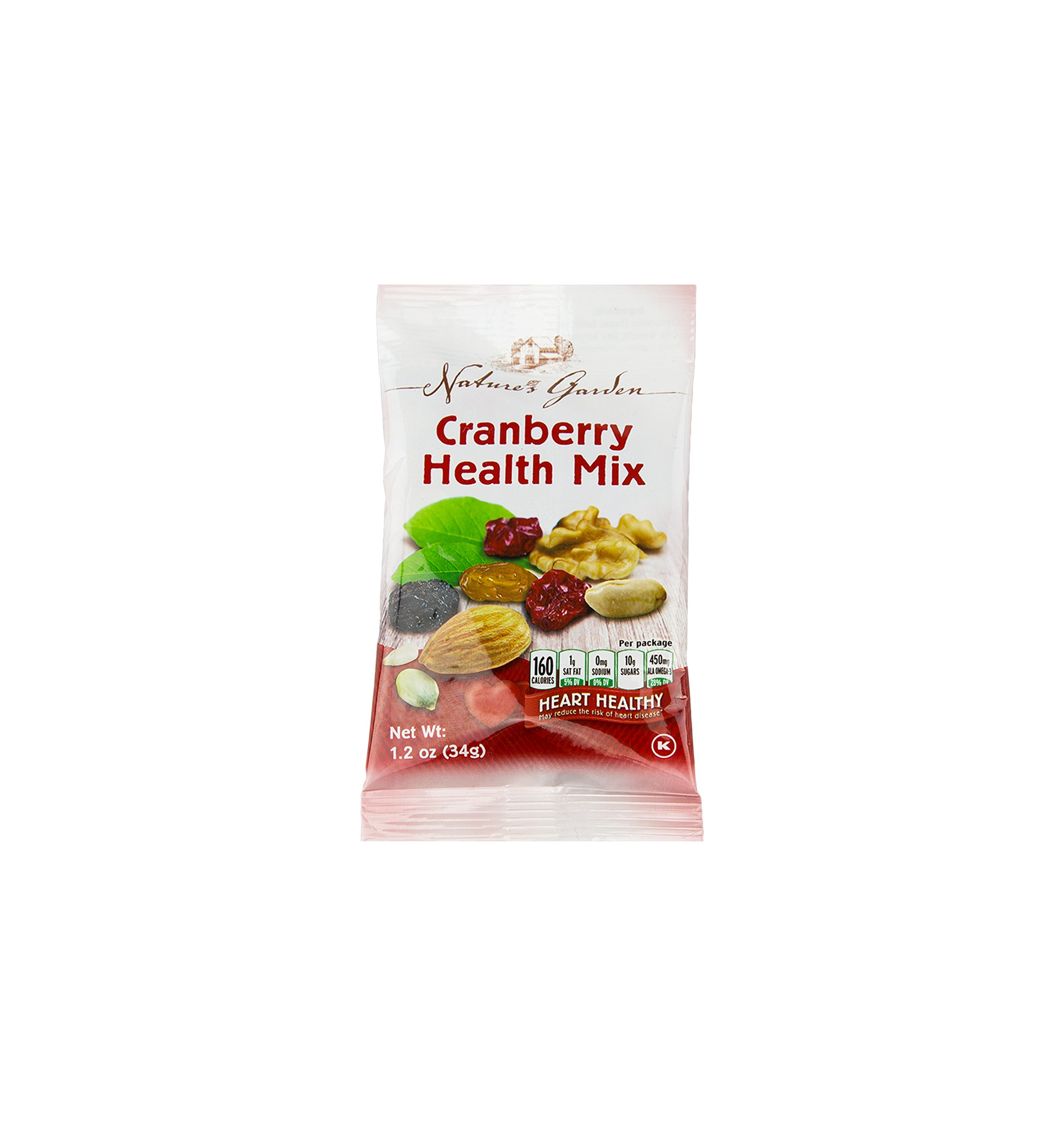 Healthy Premium Assorted Nuts and Fruits Snack Mix Sampler Variety Pack, Good for the Heart by Variety Fun (Care Package 24 Count) by Custom Varietea (Image #2)