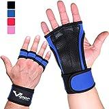 Trainingshandschuhe - Crossfit Fitness Handschuhe mit Anti-Schweiß Design & Überlegener Handgelenkunterstützung, für Herren und Damen. Perfekt für Fitnessstudio, Gewichtheben, Calisthenics, Pull-Ups. Gesunde Hände = Längere Workouts