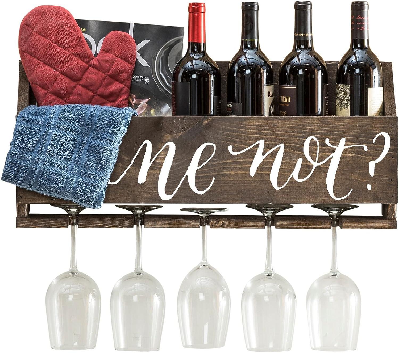 Wine Not? - Dark Del Hutson Designs Le Luxe Wine Rack
