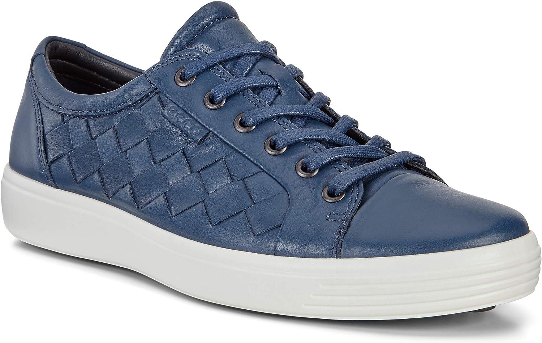 ECCO Mens Soft 7 Woven Tie Fashion Sneaker