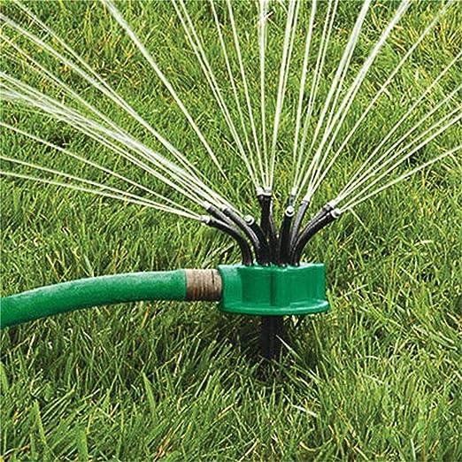 Gugutogo - Aspersor Giratorio de 360 Grados, Cabezal de Nariz para riego de Jardín, riego de Jardín, Refrigeración de Techo (Color: Verde): Amazon.es: Jardín