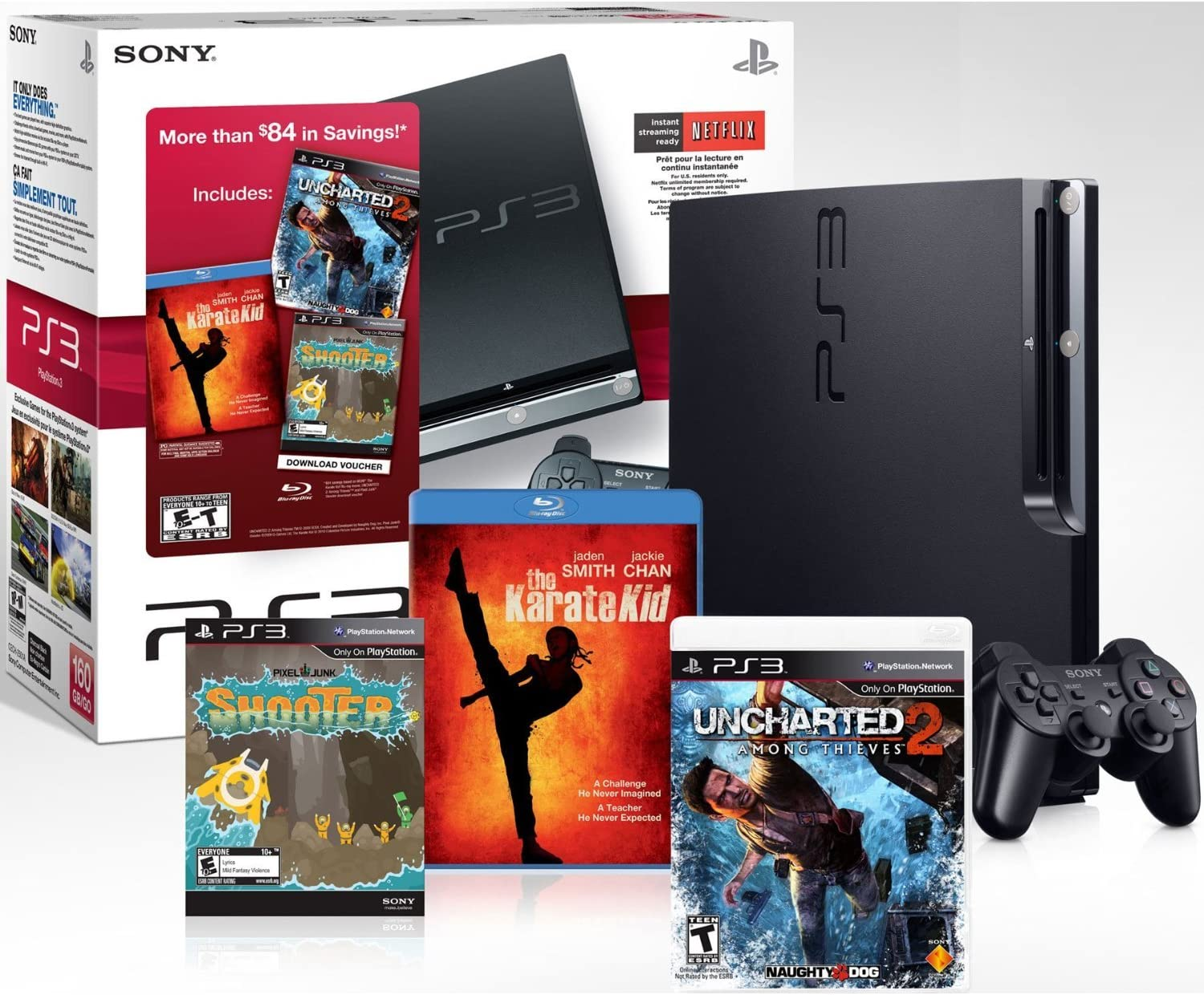 Amazon.com: PlayStation 3 160 GB Black Friday Bundle w ...