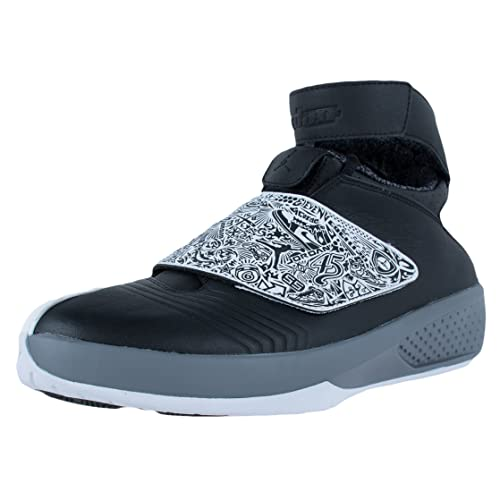 separation shoes 0521b 5c01d Nike Air Jordan XX Mens Basketball Shoes, Black White-Cool Grey, 14 M US   Buy Online at Low Prices in India - Amazon.in