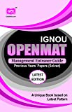 Openmat Management Entrance Guide (IGNOU Help book for MBA Entrance Guide Book in English Medium) 2015