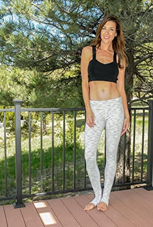 f33d80558cc Amazon.com: 36 inch Inseam Yoga Pants for Tall Womens - White Wolf ...