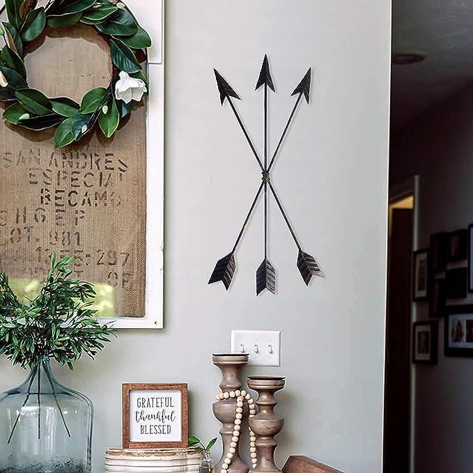 Crafia Cast Iron Native American Metal Arrow Wall Decor Handmade Farmhouse Decor And Ideas 1 Home Decor Home Decor Accents