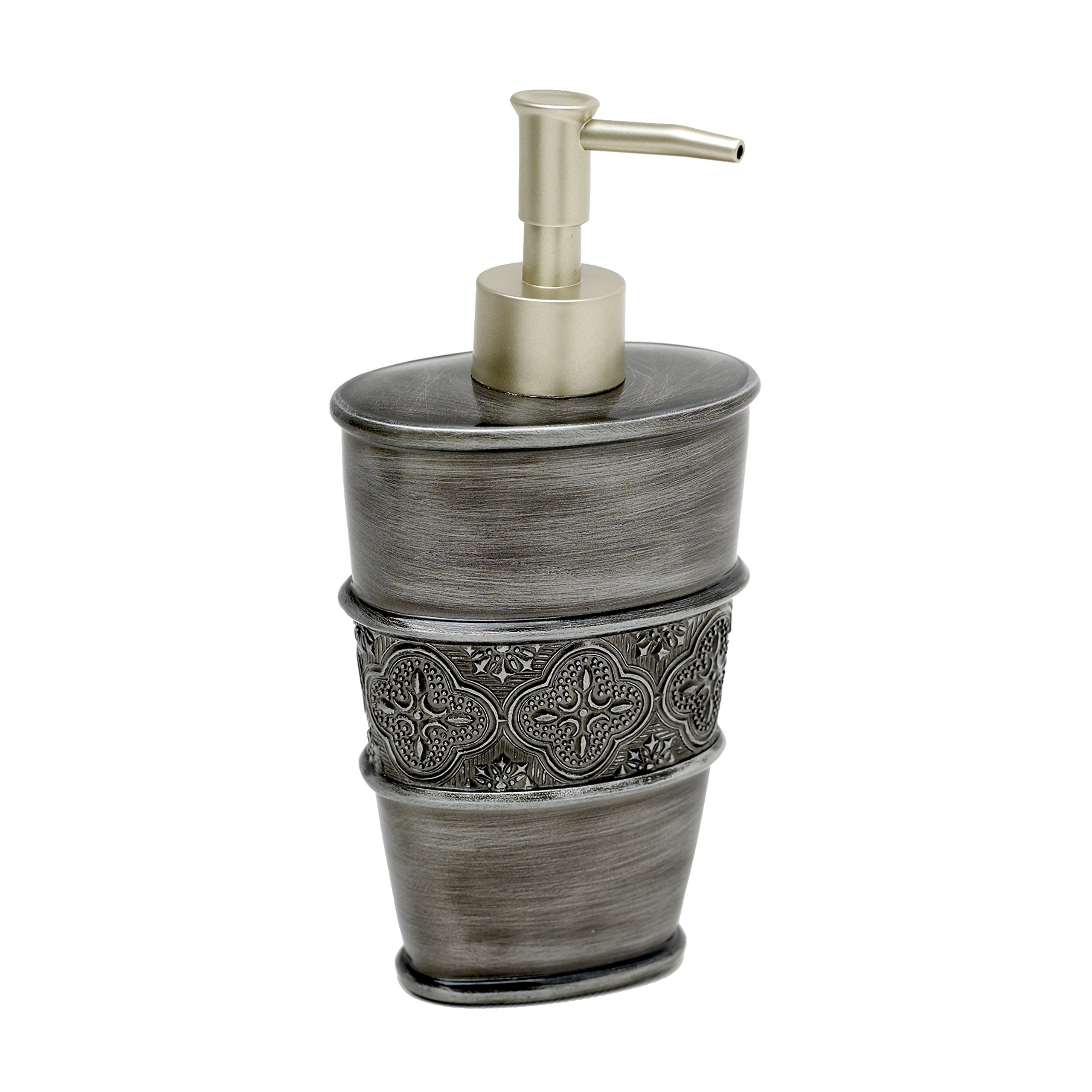 India Ink 7059537551, Gatsby Lotion Dispenser, Antique Pewter by ZPC Zenith Products Corporation (Image #1)