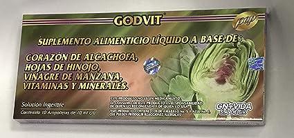 Sirven ampolletas alcachofa para adelgazar