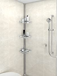 Lifewit Corner Shower Caddy 3 Tier Adjustable.