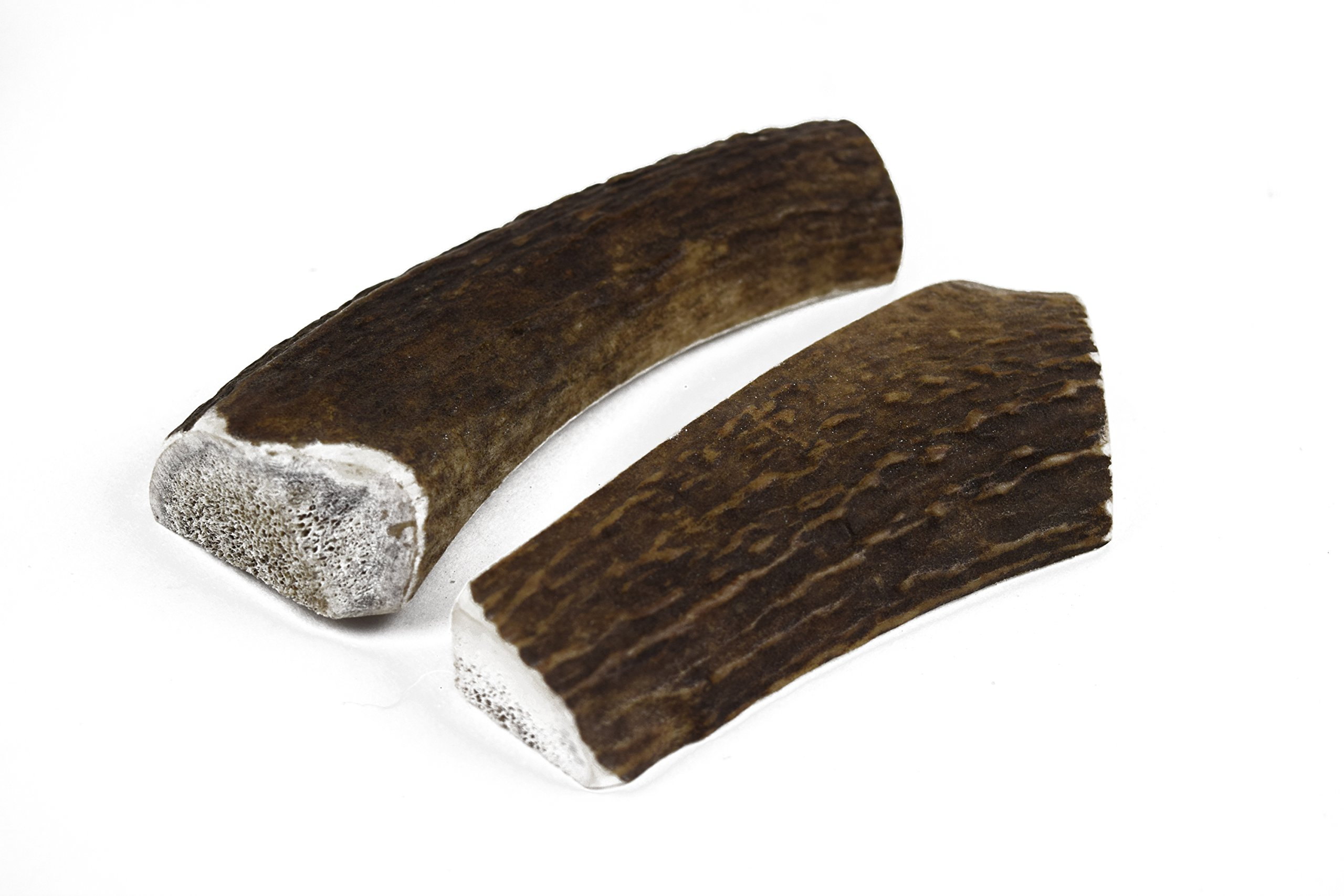 JimHodgesDogTraining Brand - Grade A Premium Quality Elk Antler Dog Chews - Small Split 2 Pack - Natural Alternative to Chew Toys, Bully Sticks, Bones, Rawhides, Himalayan, Jerky Treats - Made in USA by JimHodgesDogTraining - Grade A Antler Dog Chews (Image #4)