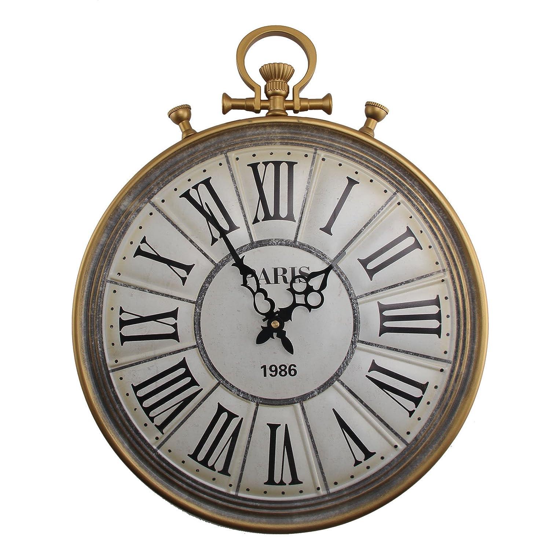 Smart Vintage Movt Clock Quartz Roman Numerals Vintage Japan Clock Wedding Present Antiques