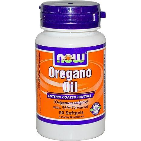 Aceite de orégano, 90 Cápsulas - Now Foods