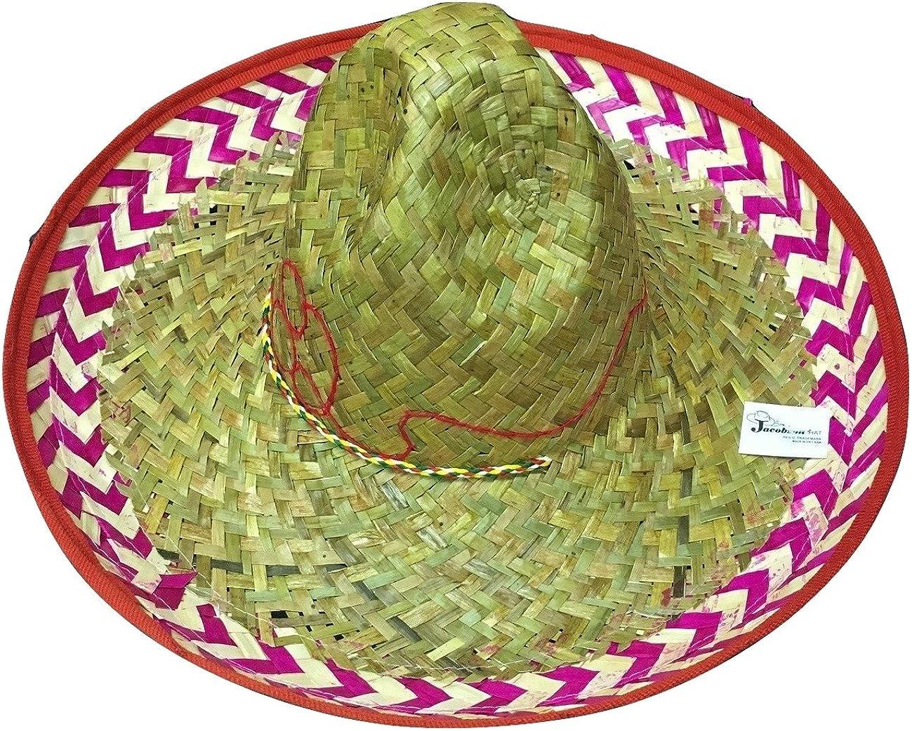 New Mexican Sombrero Hat Cinco De Mayo Spanish Costume Festive Salsa Fiesta