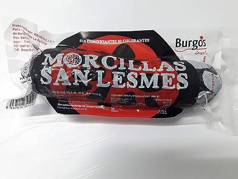 Morcilla de Burgos tripa de ternera (1 kg.)