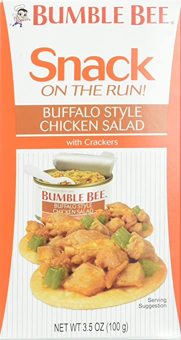 Bumble bee snack on the run buffalo style chicken salad with bumble bee snack on the run buffalo style chicken salad with crackers kit 34 ounce solutioingenieria Gallery