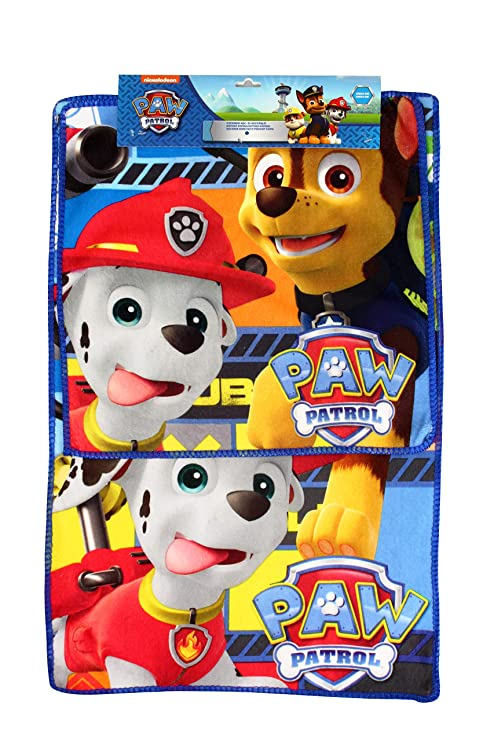 New Import Set de 2 Toallas de Baño con Diseño La Patrulla Canina Algodón, 15x5x10