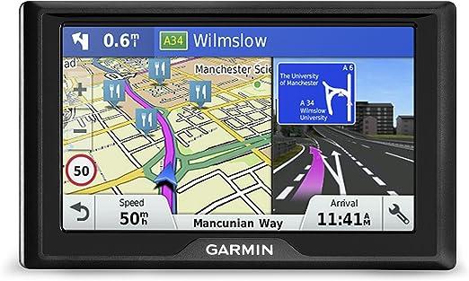 TFT 6.1 800 x 480 Pixeles 71,9 x 136,1 mm Navegador GPS , SSD Toda Europa, 15,5 cm 2.83 x 5.36 Garmin Drive 60LM Port/átil//Fijo 6.1 TFT 241g Negro navegador