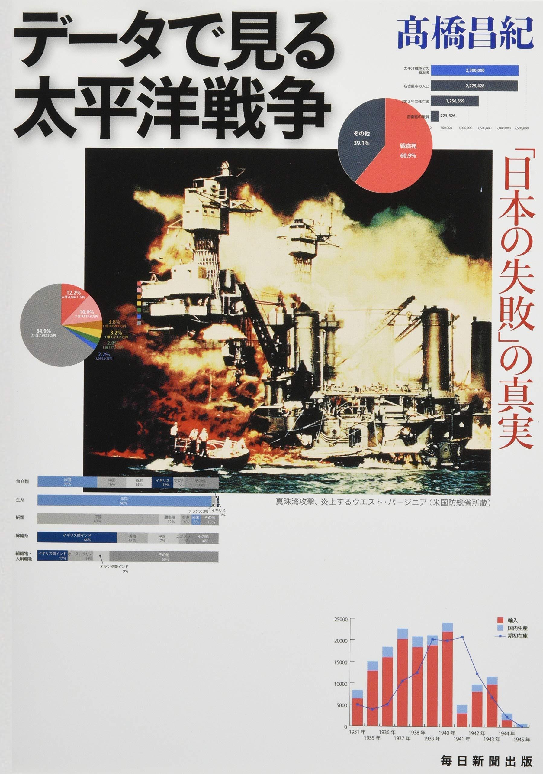 データで見る太平洋戦争 「日本の失敗」の真実   髙橋 昌紀  本   通販 ...