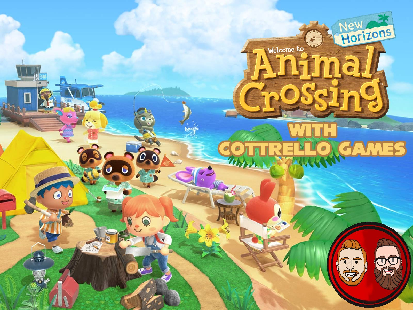 Animal Crossing New Horizons with Cottrello Games
