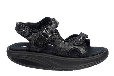 62dd4b37ac6a Image Unavailable. Image not available for. Color  MBT Women s Kisumu 3S  Black Sandals ...