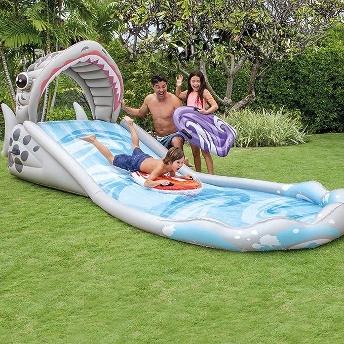 Amazon.com: Surf Slide 406 cm × 168 cm × 163 cm: Toys & Games