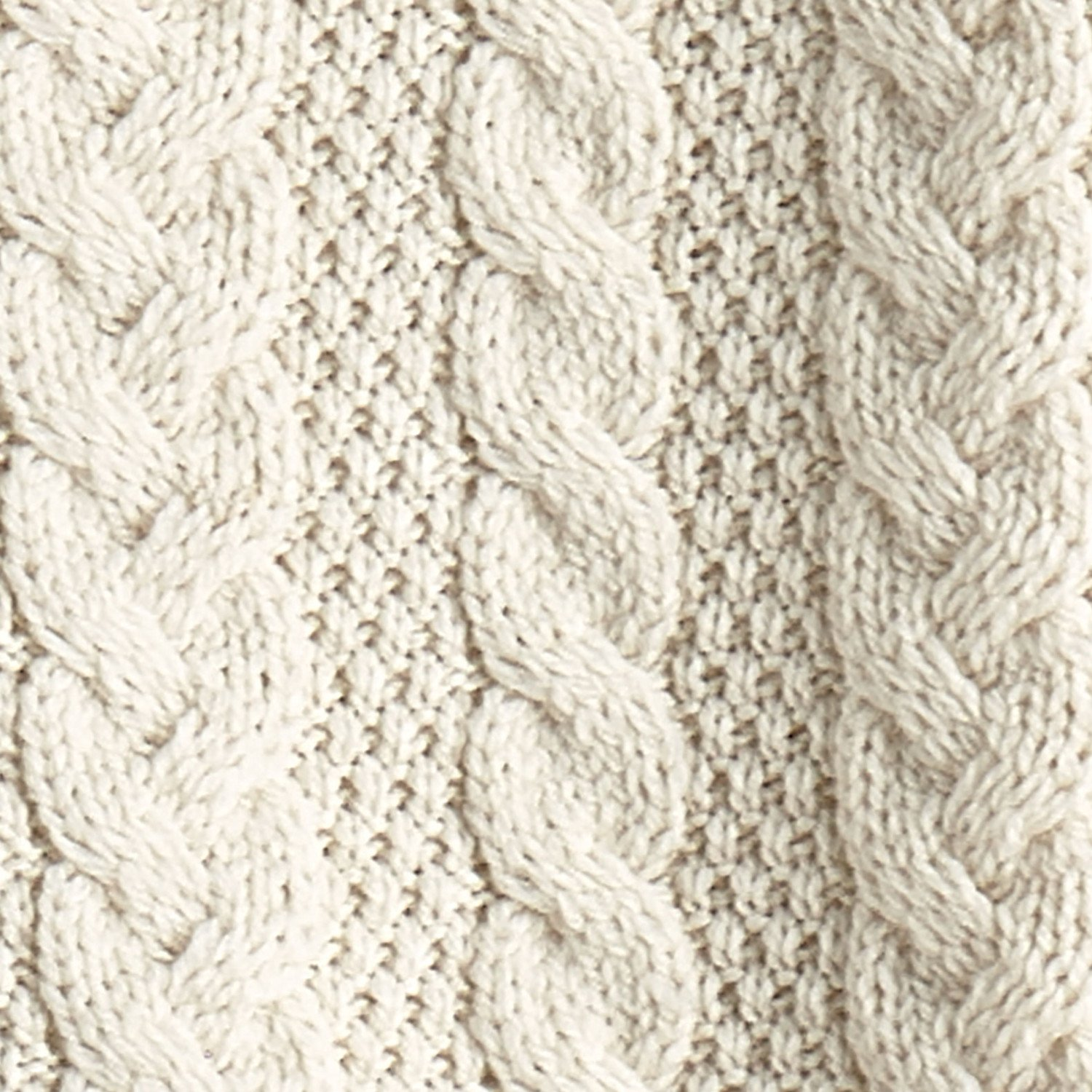 West End Knitwear Women's Brigid Hooded Aran Cardigan - Natural - 2X by West End Knitwear (Image #2)
