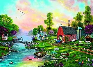 product image for SUNSOUT INC Bridge to The Farm 500+ pc Jigsaw Puzzle