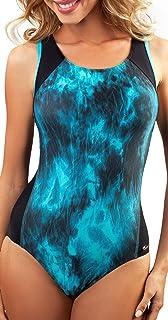 Aquarilla Collection Womens Swimming Costume Racerback Swimsuit Swimsuit