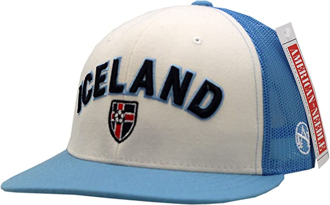 pretty nice b0661 d10d8 Iceland National Football Team Snapback Mesh 2-Tone at ...