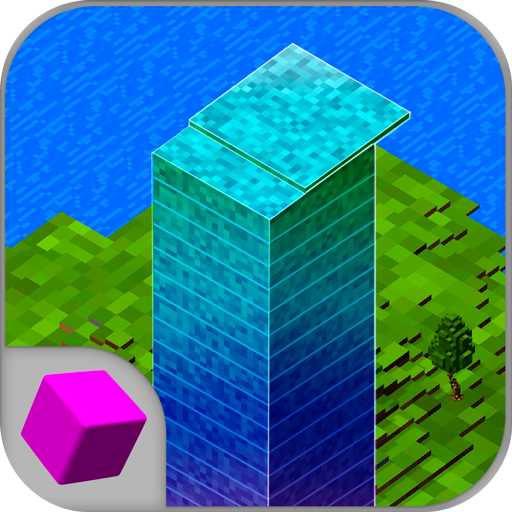 (Cube Stack Tower 3D)