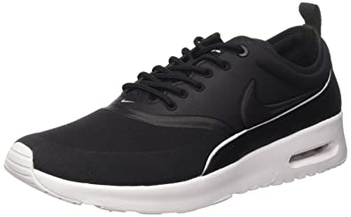 NIKE 844926-001 Women's Air Max Thea Ultra Running Shoes, Black/White/