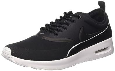 Nike 844926-001 Women's Air Max Thea Ultra Sneakers, Black/White/Dark
