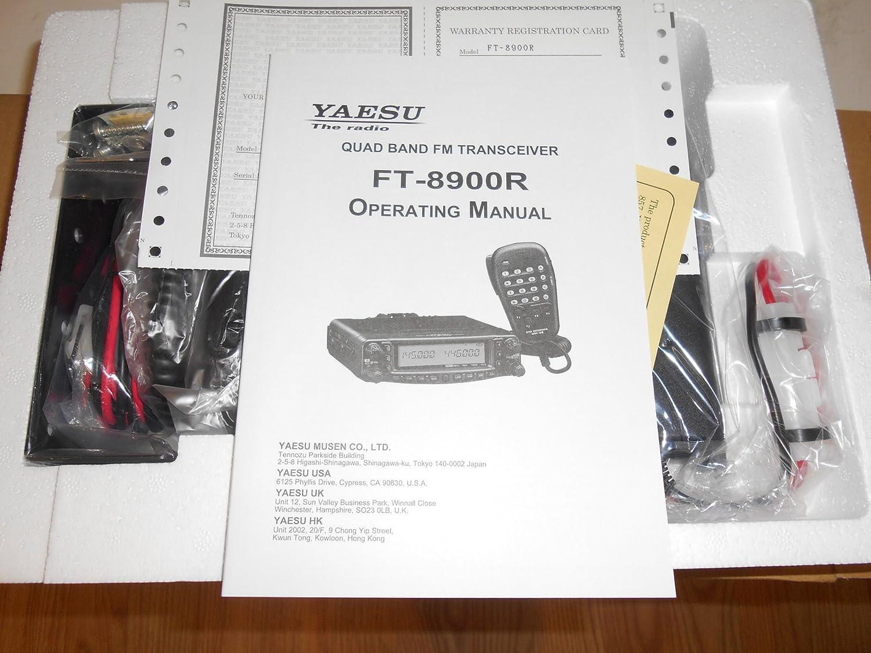 YAESU FT-8900 R EMISORA MULTIBANDA 29/50/ 144/430 MHz + YSD ...