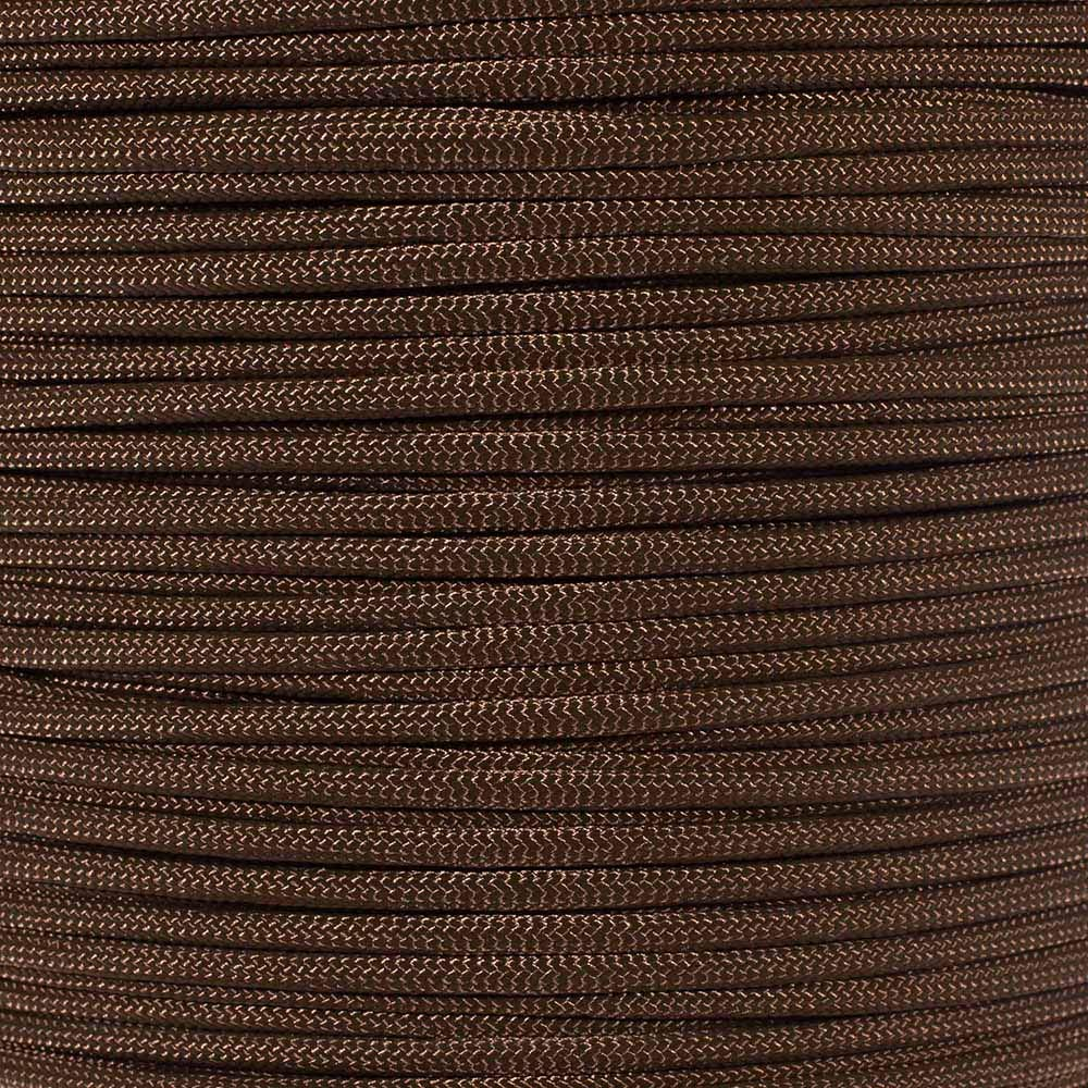 PARACORD PLANET 550 Paracord - Solid Colors - for Indoor and Outdoor Applications (10 Feet, Acid Brown)
